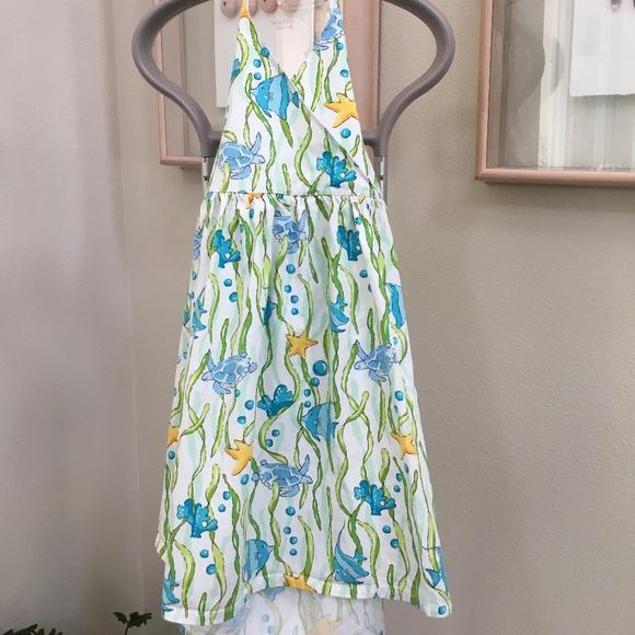 Gymboree Ocean Halter Dress Sz. 9